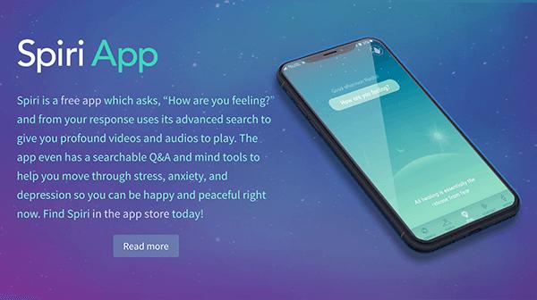 Spiri App for iOS
